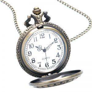 Klasični džepni sat Veseli konji